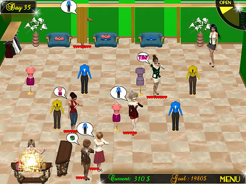 Fashion Run Game - fantastic salon game!