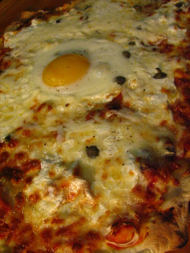 Pizza Romana w/ Egg
