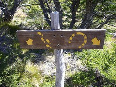 Fitz Roy - trek - panneau