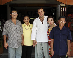 Staff at a Chiang Rai hotel