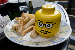 When eggs and lego Collide