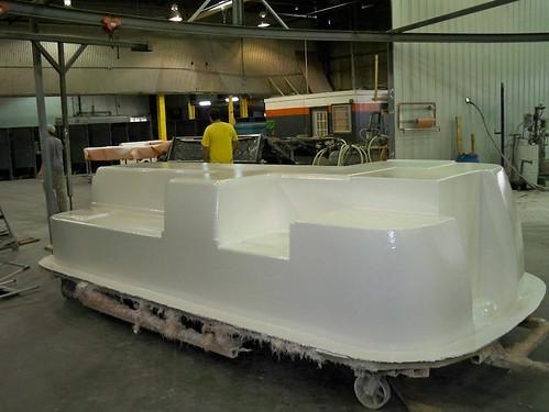 Inside Bottom Shell - Gell Coat Application