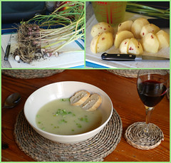 Irish potato and spring onion soup (barnybug) Tags: irish food soup potato springonion camera:model=nikond80 exif:focal_length=50mm exif:exposure=002sec150 exif:iso_speed=400 exif:exposure_bias=23ev exif:aperture=f4 file:name=irishpotatoandspringonionsoup meta:exif=1229734289 camera:make=nikoncorporation