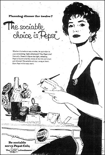 Pepsi ad Winnipeg Tribune 1959