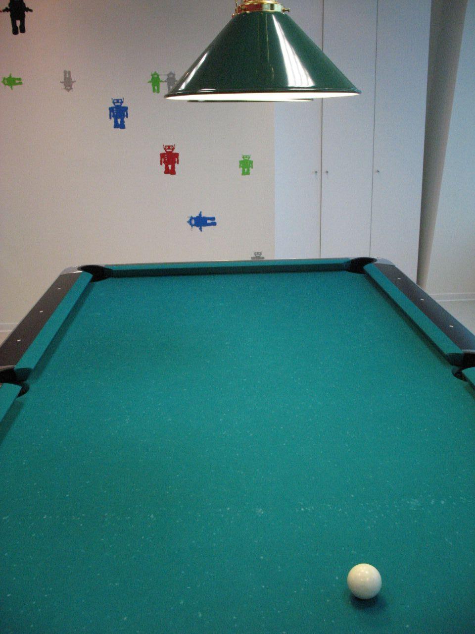 全世界最高的google撞球桌