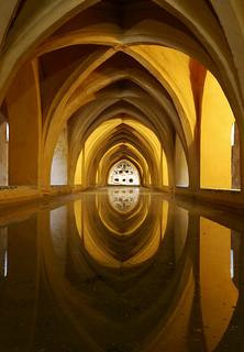 Baths of Lady María de Padilla, Alcazar, Seville
