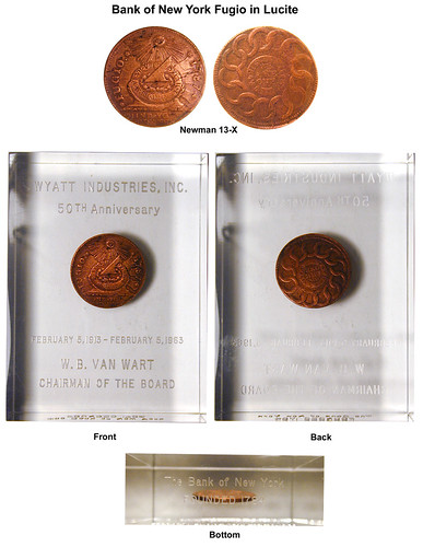 Bank of New York Hoard Fugio Cent