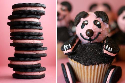 Pink Panda Cupcakes