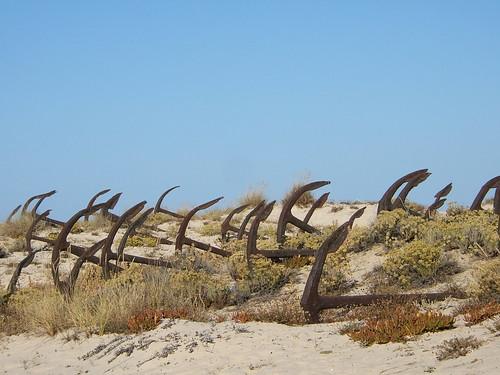 Âncoras - Praia do Barril
