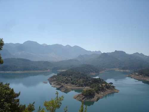 Озеро, где проходила рыбалка