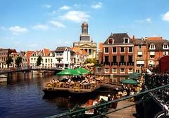 Leiden - waterterras