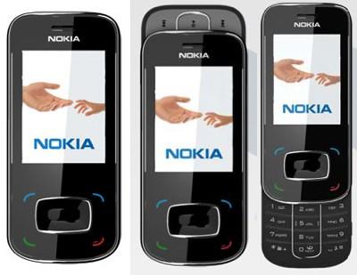 Nokia 8208 open-close