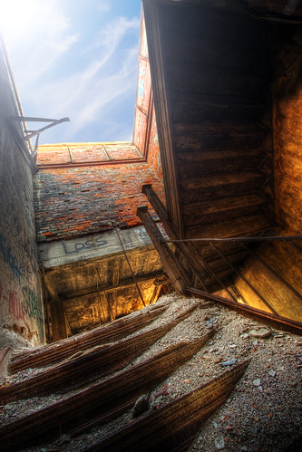 Stairway to the Roof