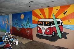 DSC_0778 (Kurt Christensen) Tags: art beach painting mural surf thrust gilgobeach gilgo