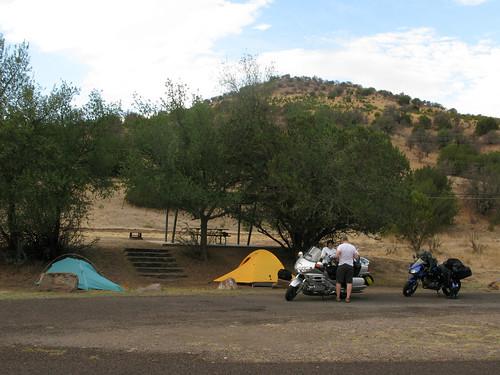 Camping @ Ft. Davis