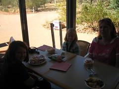 lunch at Alice Springs Desert Park