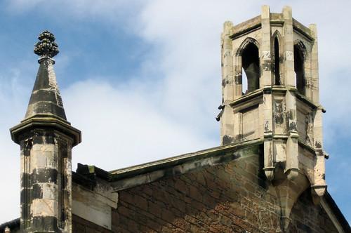 Irvine church tower