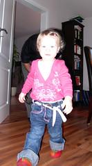 forscher Schritt (BineBluete) Tags: kid perspektive walkin