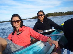 Why did we always turn left? (Queenbean79) Tags: dolphins kayaking portmacquarie