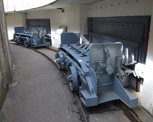 Waggons used for transporting grenades