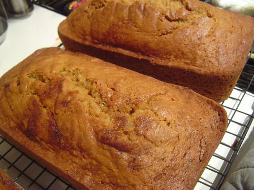 BEST pumpkin bread ever