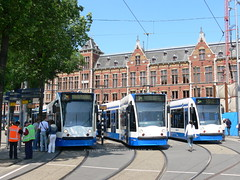 Trams at Central Station