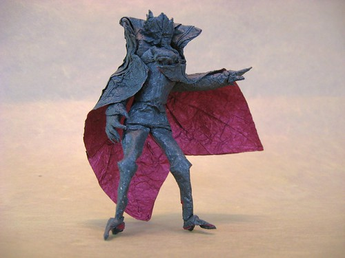 25 Incredible Japanese Anime Characters in Origami Form | 375x500