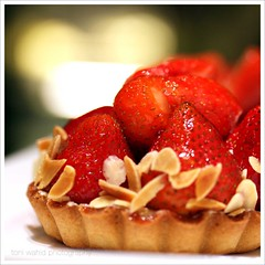 Strawberry Pie (toni wahid) Tags: strawberrypie foodphotography canonefs60mmf28