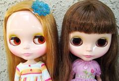 Vanessa and Ramona: brown chips