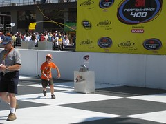 IMG_0431 (ChevyGuy454) Tags: michigan august racing nascar sprint 2008 motorsports mis motorsport victorylane michiganinternationalspeedway nascarracing winnerstrophy nascarsprintcup 08172008