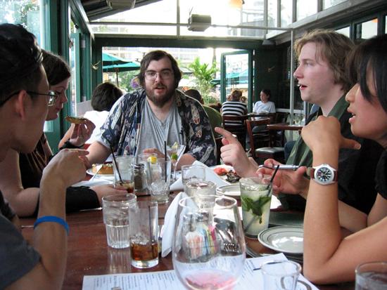 Ben Walker and Friends (Click to enlarge)