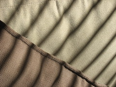 palm leaf (verado) Tags: light shadow abstract texture pattern fabric textiles patterning