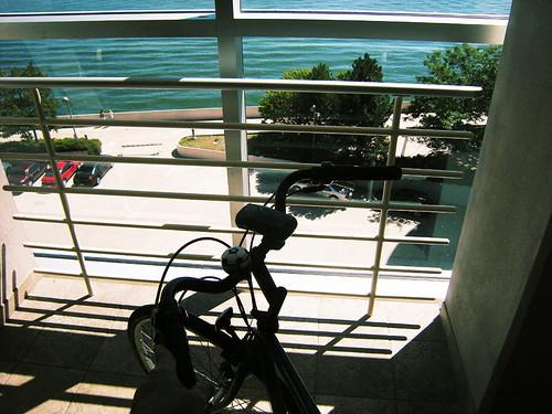 Monona Terrace Bike and Pedestrian Elevator