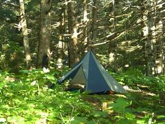 Pyramid Tarp Camp
