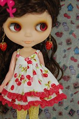 Cherry Lacey Dress