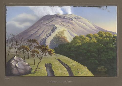Merapi von der Südseite