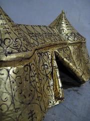 golden tent