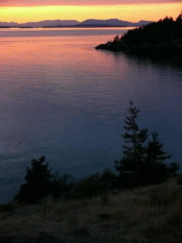 Lime Kiln Point Sunset