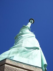 Liberty Enlightening the World (22nyharborparks) Tags: park york nyc newyorkcity usa ny statue america freedom harbor nationalpark ship ellis skirt statueofliberty patriotism ellisisland nyharbor newyorklandmark nationalparksofnewyorkharbor libertysskirt