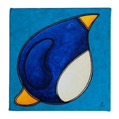 big fat penguin of determination - square
