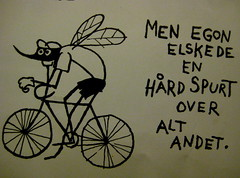 Egon The Cycling Mosquito