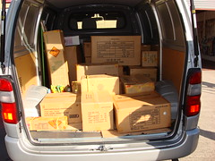 EpicFireworks - VAN IS FULL OF FIREWORKS READY FOR DIWALI (EpicFireworks) Tags: display fireworks firework diwali pyro 13g epic pyrotechnics