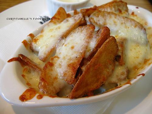NY Bagels 起司薯條