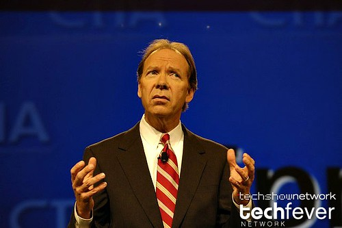 Dan Hesse, President & CEO Sprint Nextel Corporation during his keynote presentation at CTIA WIRELESS by TechShowNetwork.