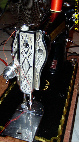 Faceplate of Mercury machine