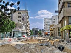 Nicosia Roadwork (Mike G. K.) Tags: street work construction cyprus canals hdr str nicosia photomatix tonemapped 1exp singlejpghdr escavations diagoroustreet