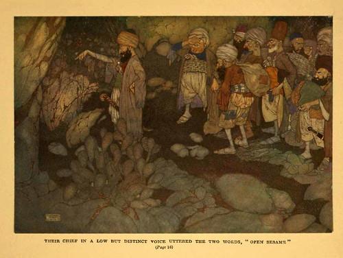 002-Ali Baba y los cuarenta ladrones