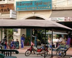 Cambodia, Fuss-Massagesalon in Siem Reap  - 4 (roba66) Tags: travel asia asien cambodge cambodia kambodscha khmer urlaub explore siemreap angkor eastasia massagesalon camodia earthasia aufdenstrassen roba66