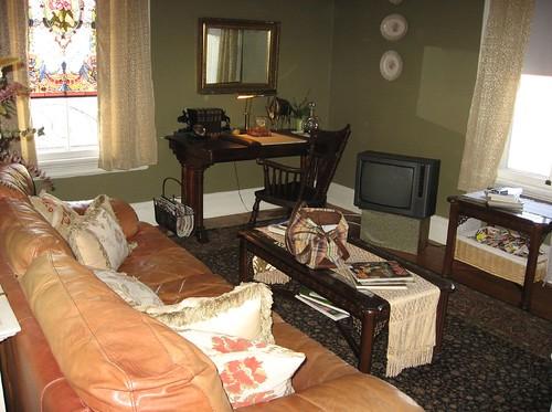 Vienna Inn our sitting room Southbridge MA