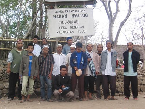 Makam Nyatoq in Rambitan, Lombok